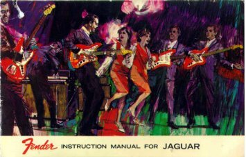 Fender Jaguar Owner's Manual