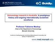 Professor Fabienne Mackay - The University of Sydney