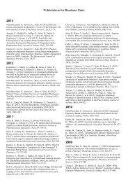 Publications for Bandana Saini 2013 2012 2011 2010 2009 2008