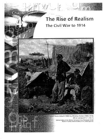 the rise to realism American literary realism: definitions realism in american literature, 1860-1890 and the influence of rational philosophy all affected the rise of realism.