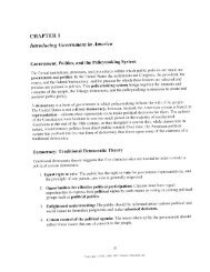 CHAPTER 1 Introducing Government in America - TeacherWeb