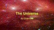The Universe - TeacherWeb