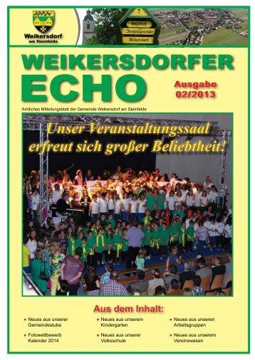 WEIKERSDORFER - in der Gemeinde Weikersdorf