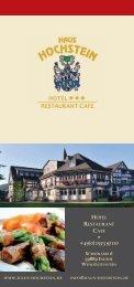 PDF-Download - Haus Hochstein