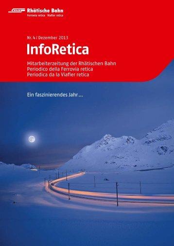 InfoRetica (aktuelle Ausgabe) - RhB