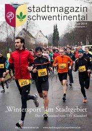 """""""Wintersport"""" im Stadtgebiet - Stadtmagazin Schwentinental"""