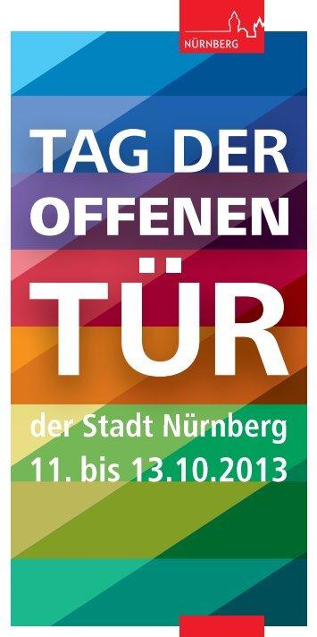 Programmheft - Stadt Nürnberg