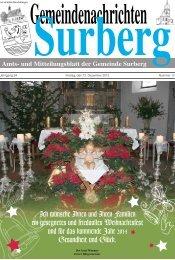 Dezember 2013 - Surberg