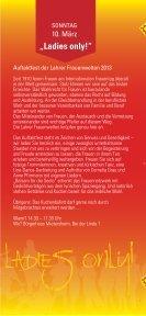 Lahrer Frauenwelten 2013 - Flyer - Stadt Lahr - Seite 2