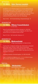 Lahrer Frauenwelten 2013 - Flyer - Stadt Lahr - Seite 7