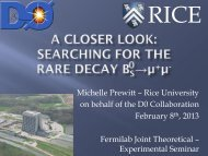 searching for the rare decay B s → μμ at D0 - Theoretical Physics