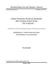 Arthur Schnitzlers Professor Bernhardi, Max Nordaus ... - Theses