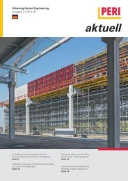 Download: PERI aktuell - Ausgabe 2 | 2013 DE