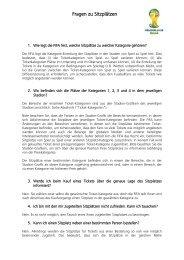Fragen zu Sitzplãtzen - FIFA.com