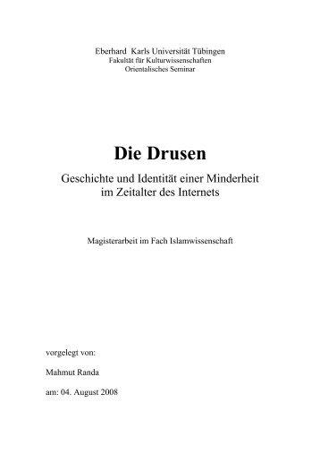 Die Drusen - TOBIAS-lib - Universität Tübingen