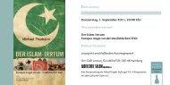 Der Islam-Irrtum Europas Angst vor der muslimischen Welt Michael