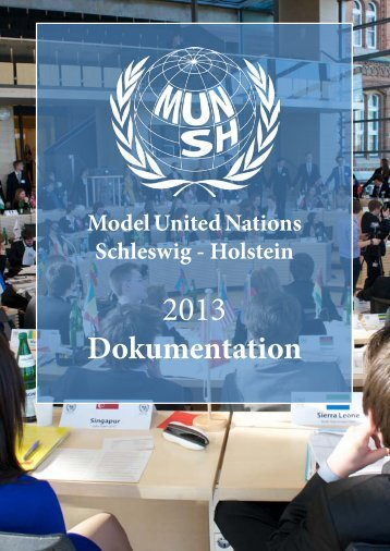 Model United Nations Schleswig - Holstein - Deutsche Model United ...