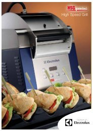 High Speed Grill - Electrolux