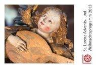 Adventsprogramm der Lorenzkirche - Tourismus Nürnberg