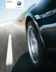 BMW M6 Coupé BMW M6 Cabrio Freude am Fahren