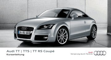 Audi TT | TTS | TT RS Coupé