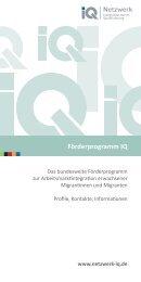 Download - Netzwerk Integration durch Qualifizierung (IQ)