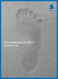 Geschäftsbericht 2012 (PDF, 12 MB) - Sana Kliniken AG
