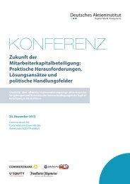 2013-11-20 Programmflyer.pdf - Deutsches Aktieninstitut