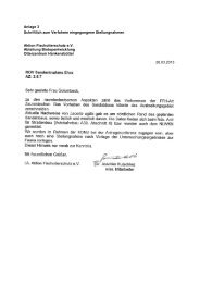 Anlage 3 Schriftlich zum Verfahren eingegangene Stellungnahmen ...