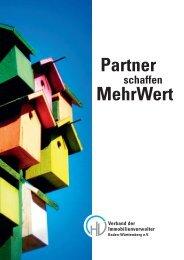 Partner schaffen Mehrwert - Preisser Hausverwaltungen