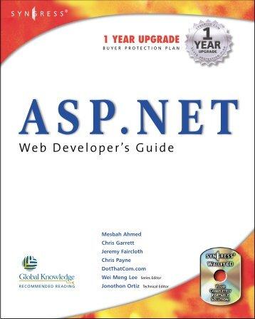 ASP.NET Web Developers Guide