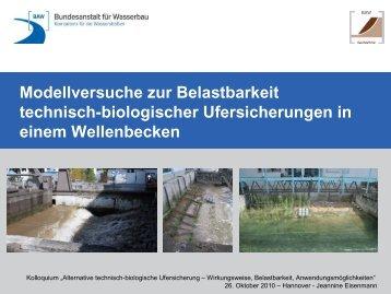2,7 MB - Alternative technisch-biologische Ufersicherungen ...