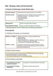 3404 - Bindung, Liebe und Partnerschaft - kampfkeks.net