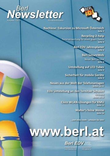 Ausgabe 1-2013 - Berl EDV