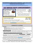 dat minyan news and events - ShulCloud - Page 3