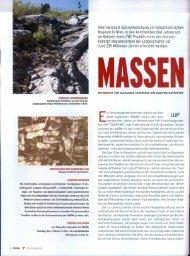 Lukeneder A., Mayrhofer S. (2010): Massensterben. Universum, 3