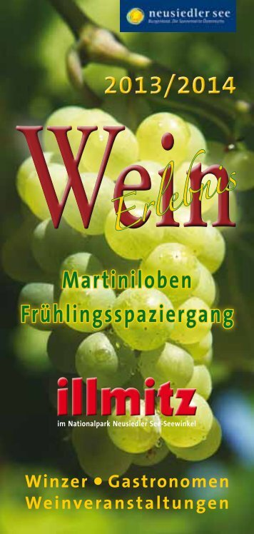 """""""Illmitzer Weinerlebnis 2013/2014"""" - FRÜHLINGSSPAZIERGANG ..."""