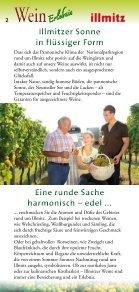 """""""Illmitzer Weinerlebnis 2013/2014"""" - FRÜHLINGSSPAZIERGANG ... - Page 2"""