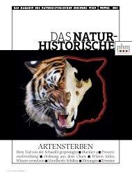Winter 2013 - Naturhistorisches Museum Wien