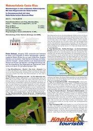 Reiseplan als pdf - Naturhistorisches Museum Wien