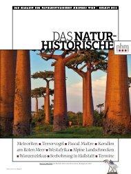 Herbst 2012 - Naturhistorisches Museum Wien
