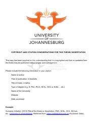 View/Open - UJDigispace - University of Johannesburg