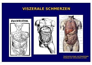 VISZERALE SCHMERZEN - UK-Online - Universität zu Köln