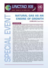 NATURAL GAS AS AN ENGINE OF GROWTH - Unctad