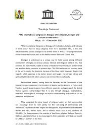 Final declaration (of) the International Congress ... - unesdoc - Unesco