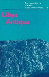 Symposium on Libya Antiqua; Libya antiqua ... - unesdoc - Unesco