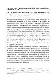 6.4 Der Creglinger Marienaltar und seine Bedeutung und Funktion ...