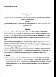 Dienstvereinbarung über die Einführung, wesentliche Änderung ...