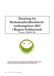MTU2012 drejebog.pdf - InfoNet - Region Syddanmark