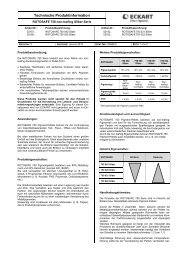 Technische Produktinformation - ECKART Effect Pigments